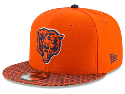 Chicago Bears New Era 2017 NFL Official Sideline 9FIFTY Snapback Cap