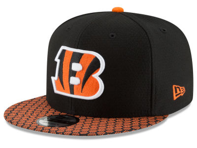 Cincinnati Bengals New Era 2017 NFL Official Sideline 9FIFTY Snapback Cap