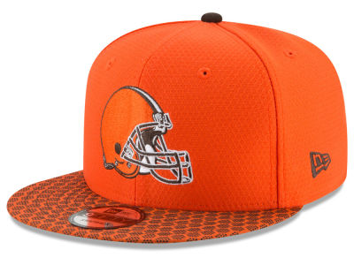 Cleveland Browns New Era 2017 NFL Official Sideline 9FIFTY Snapback Cap