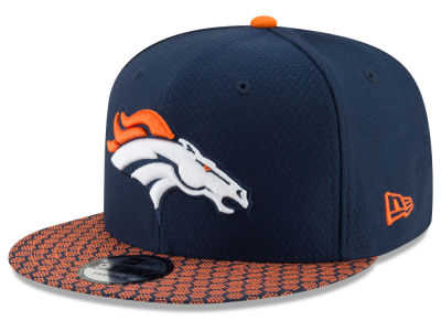 Denver Broncos New Era 2017 NFL Official Sideline 9FIFTY Snapback Cap