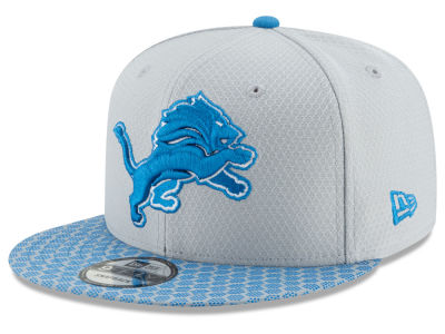 Detroit Lions New Era 2017 NFL Official Sideline 9FIFTY Snapback Cap