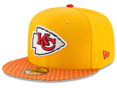 Kansas City Chiefs New Era 2017 NFL Official Sideline 9FIFTY Snapback Cap