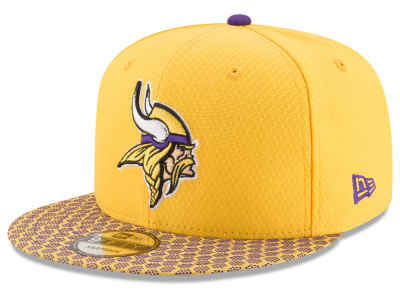 Minnesota Vikings New Era 2017 NFL Official Sideline 9FIFTY Snapback Cap