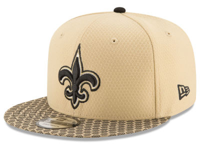 New Orleans Saints New Era 2017 NFL Official Sideline 9FIFTY Snapback Cap
