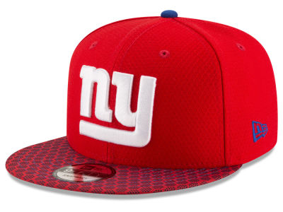 New York Giants New Era 2017 NFL Official Sideline 9FIFTY Snapback Cap