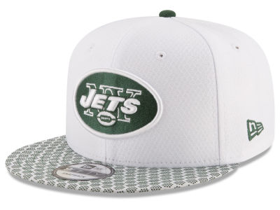 New York Jets New Era 2017 NFL Official Sideline 9FIFTY Snapback Cap