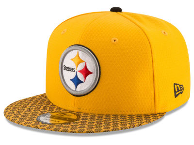 Pittsburgh Steelers New Era 2017 Official NFL Sideline 9FIFTY Snapback Cap