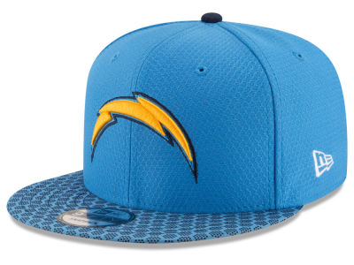 Los Angeles Chargers New Era 2017 NFL Official Sideline 9FIFTY Snapback Cap