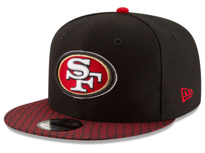 San Francisco 49ers New Era 2017 NFL Official Sideline 9FIFTY Snapback Cap
