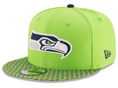 Seattle Seahawks New Era 2017 NFL Official Sideline 9FIFTY Snapback Cap