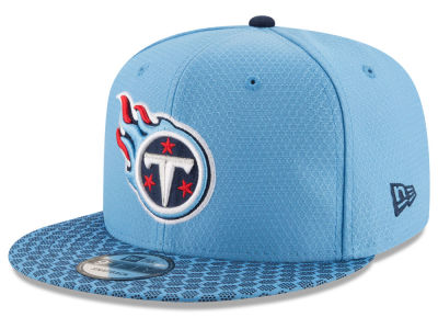 Tennessee Titans New Era 2017 NFL Official Sideline 9FIFTY Snapback Cap