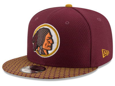 Washington Redskins New Era 2017 NFL Official Sideline 9FIFTY Snapback Cap
