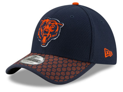 Chicago Bears New Era 2017 Official NFL Sideline 39THIRTY Cap