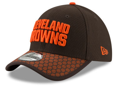 Cleveland Browns New Era 2017 Official NFL Sideline 39THIRTY Cap