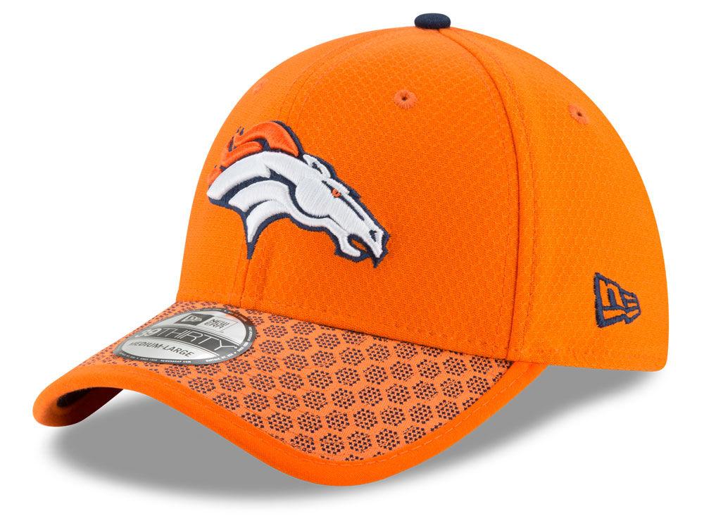Denver Broncos New Era 2017 Official NFL Sideline 39THIRTY Cap ... ec098db0c