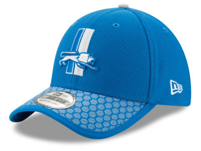 Detroit Lions New Era 2017 Official NFL Sideline 39THIRTY Cap