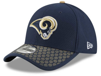 Los Angeles Rams New Era 2017 Official NFL Sideline 39THIRTY Cap