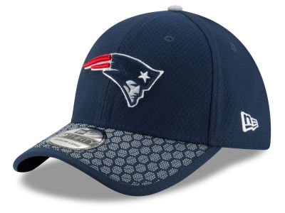 New England Patriots New Era 2017 Official NFL Sideline 39THIRTY Cap