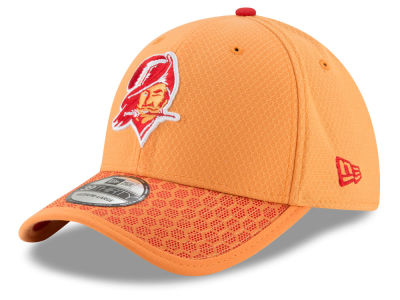 newest 5eb8a 6360b Tampa Bay Buccaneers New Era 2017 Official NFL Sideline 39THIRTY Cap