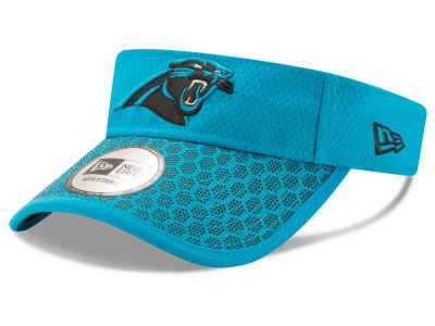 Carolina Panthers New Era 2017 Official NFL Sideline Visor
