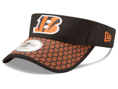 Cincinnati Bengals New Era 2017 Official NFL Sideline Visor