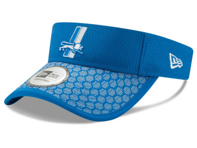 Detroit Lions New Era 2017 Official NFL Sideline Visor