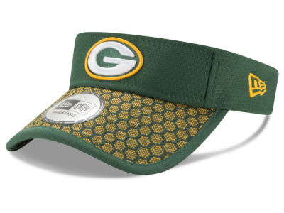 Green Bay Packers New Era 2017 Official NFL Sideline Visor