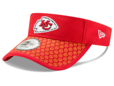 Kansas City Chiefs New Era 2017 Official NFL Sideline Visor