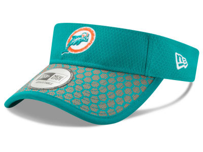 Miami Dolphins New Era 2017 Official NFL Sideline Visor