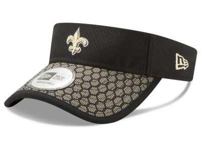 New Orleans Saints New Era 2017 Official NFL Sideline Visor