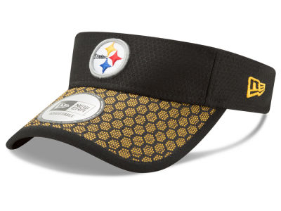 Pittsburgh Steelers New Era 2017 Official NFL Sideline Visor