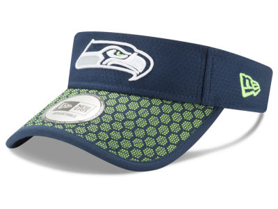 Seattle Seahawks New Era 2017 Official NFL Sideline Visor