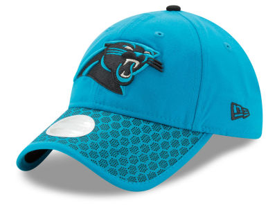 Carolina Panthers New Era 2017 Official NFL Women's Sideline 9TWENTY Cap