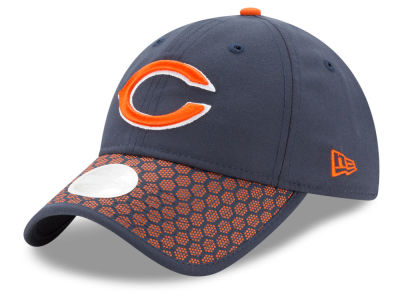 Chicago Bears New Era 2017 Official NFL Women's Sideline 9TWENTY Cap