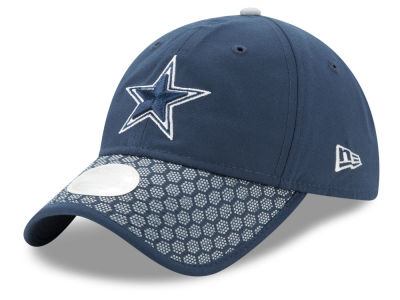 Dallas Cowboys New Era 2017 Official NFL Women's Sideline 9TWENTY Cap