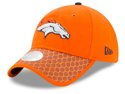 Denver Broncos New Era 2017 Official NFL Women's Sideline 9TWENTY Cap