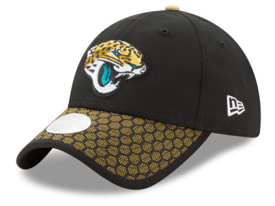 Jacksonville Jaguars New Era 2017 Official NFL Women's Sideline 9TWENTY Cap