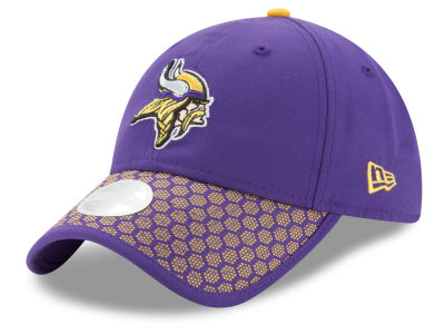 Minnesota Vikings New Era 2017 Official NFL Women's Sideline 9TWENTY Cap