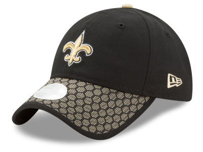 New Orleans Saints New Era 2017 Official NFL Women's Sideline 9TWENTY Cap