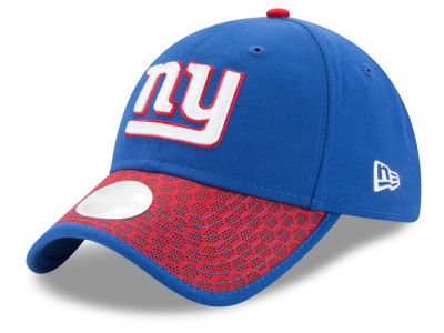 New York Giants New Era 2017 Official NFL Women's Sideline 9TWENTY Cap