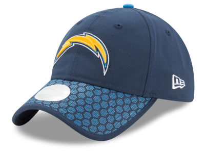 Los Angeles Chargers New Era 2017 Official NFL Women's Sideline 9TWENTY Cap