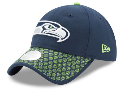 Seattle Seahawks New Era 2017 Official NFL Women's Sideline 9TWENTY Cap