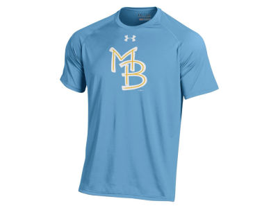 Myrtle Beach Pelicans Under Armour MiLB Men's UA Logo Tech T-Shirt