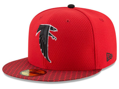 Atlanta Falcons New Era 2017 Kids Official NFL Sideline 59FIFTY Cap