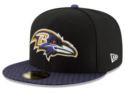 Baltimore Ravens New Era 2017 Kids Official NFL Sideline 59FIFTY Cap