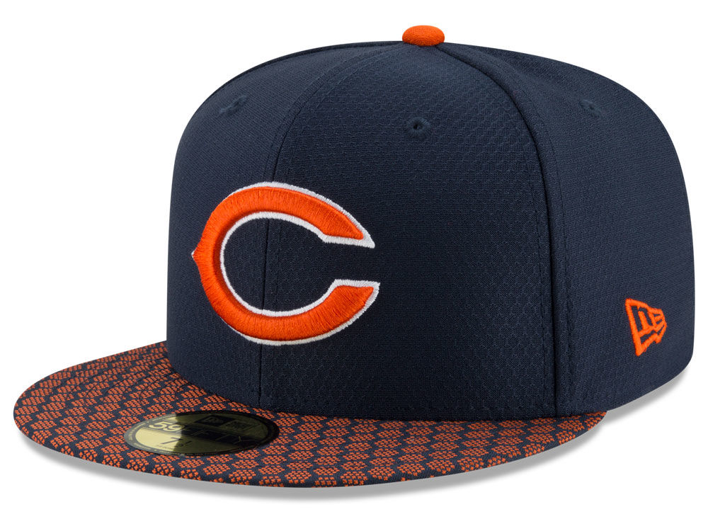 outlet store 70689 db58d cheapest chicago bears new era 2017 kids official nfl sideline 59fifty cap  a1962 e0aea