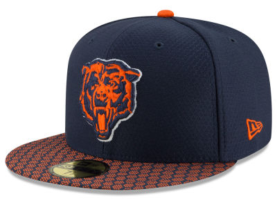 Chicago Bears New Era 2017 Kids Official NFL Sideline 59FIFTY Cap