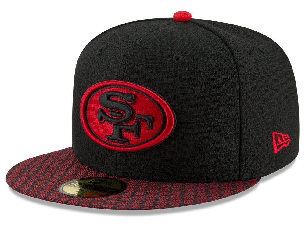 new concept 75a97 823e0 San Francisco 49ers New Era 2017 Kids Official NFL Sideline 59FIFTY Cap    lids.com