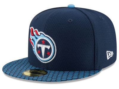 Tennessee Titans New Era 2017 Kids Official NFL Sideline 59FIFTY Cap