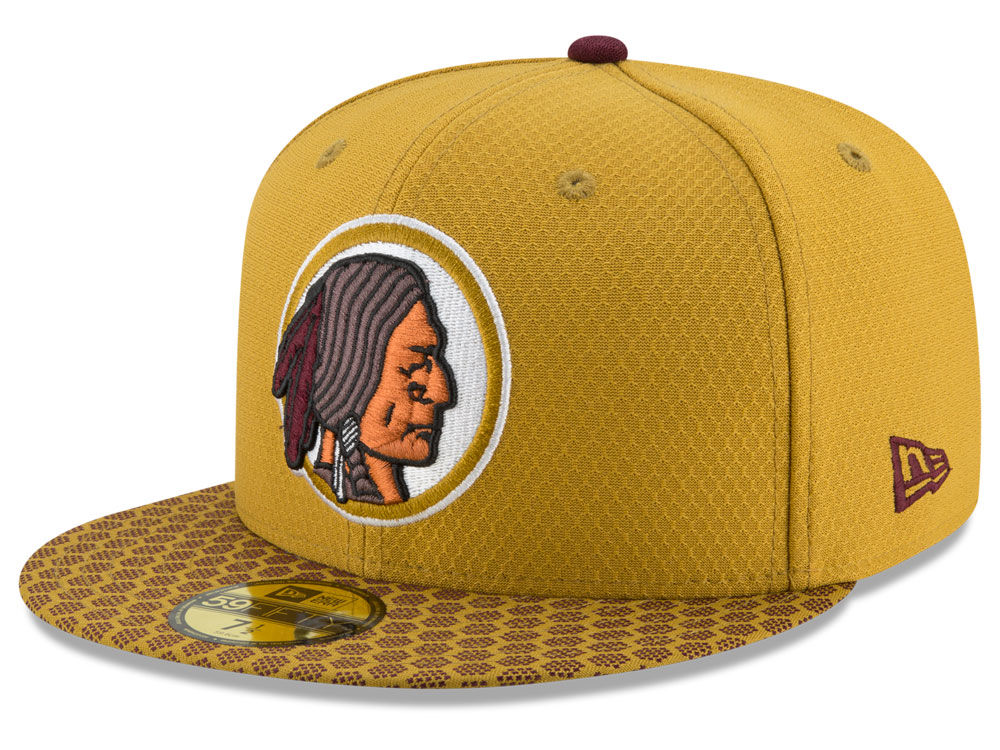 detailed look 4f53a 29604 reduced washington redskins new era 2017 kids official nfl sideline 59fifty  cap 83129 499e1